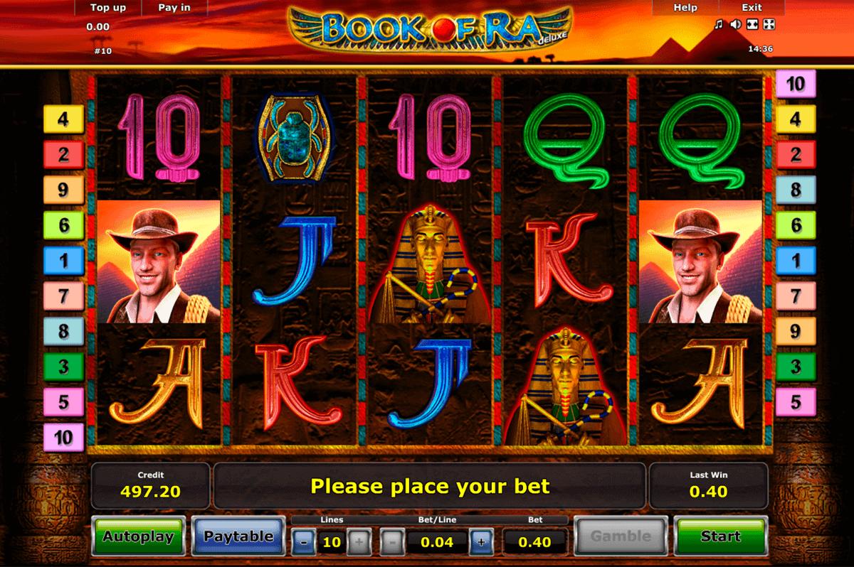 Play Book of Ra Deluxe FREE Slot | Novomatic Casino Slots