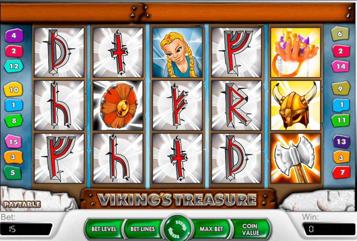Viking's Treasure Spielautomat 螺 Kostenlos Spielen Online