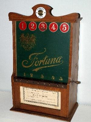 """Deutsches Automatenmuseum - Sammlung Gauselmann - """"Fortuna"""