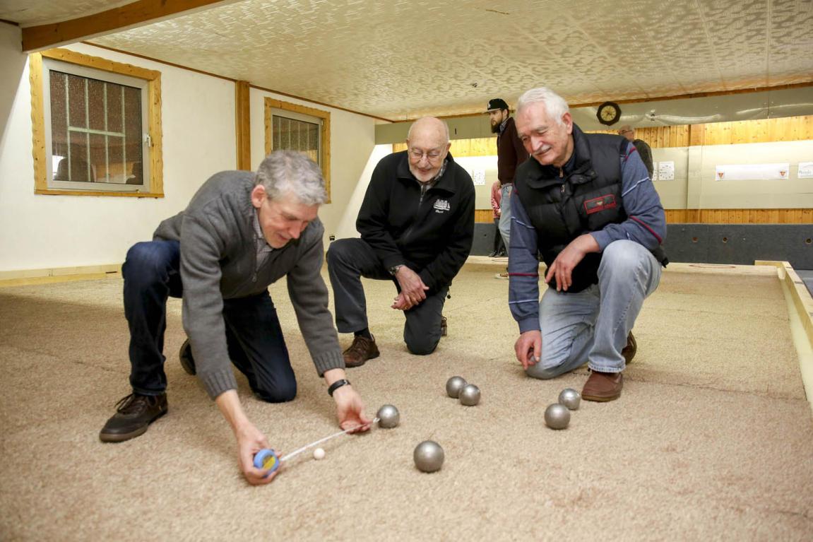 Boule Club richtet sich Spielhalle mit besonderem
