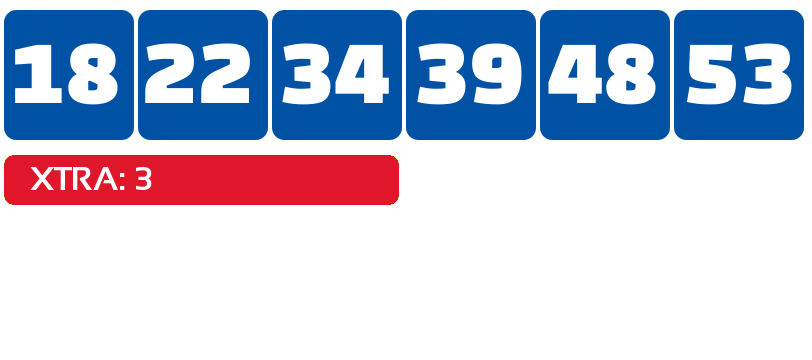 Florida Lotto with Xtra results - Florida - winning numbers