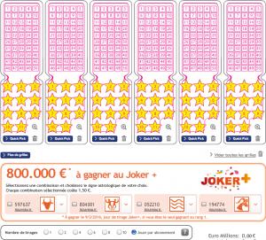 Le mode d'abonnement sur E lotto