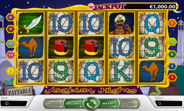 Arabian Nights Spielautomaten - Entdecken Sie die magische
