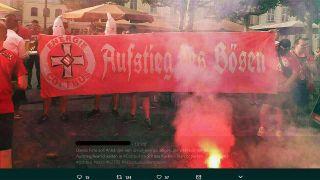 Aufstiegsfeier mit Ku-Klux-Klan-Kapuzen in Cottbus beschäftigt den