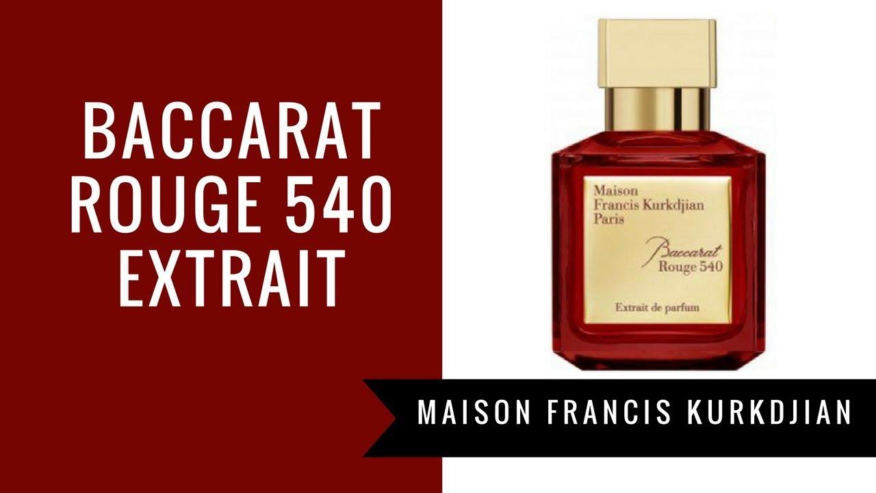 Baccarat Rouge 540 Extrait de Parfum by MFK | Fragrance