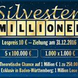 🥇🥈🥉 Lotto Bw Silvester Millionen 2018 [2019] 🤑
