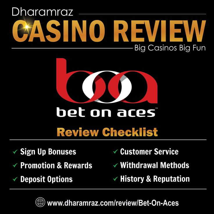 Bet On Aces Expert Reviews & Ratings 2019 | Casino Reviews