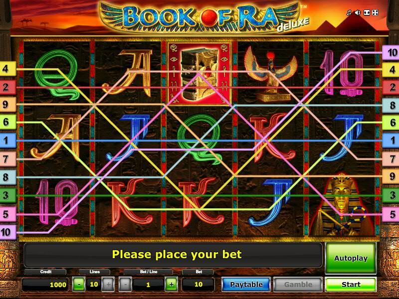 Book of Ra Deluxe - gratuit jeu de casino machine à sous