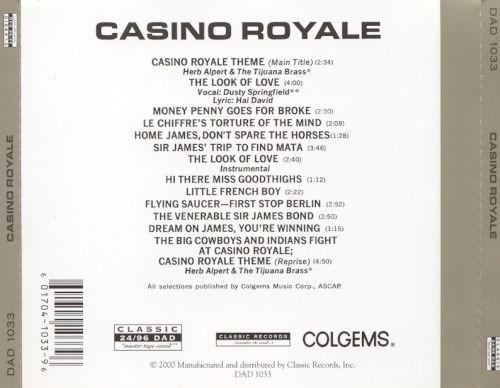 Casino Royale Soundtrack - whuzencave839