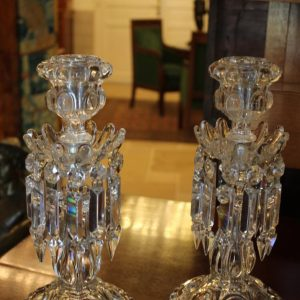 Decorating: Wonderful Baccarat Crystal Candlesticks For Your Home
