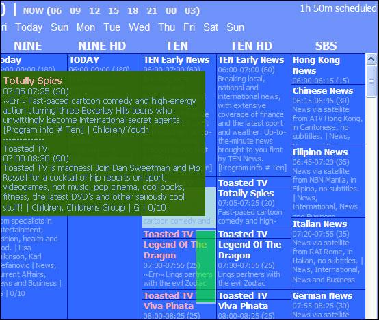 DV Scheduler - TV-Programme aufzeichnen (Download) - 4you