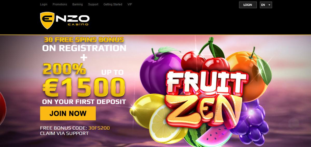 EnzoCasino Exclusive 30 no deposit free spins | WFCasino