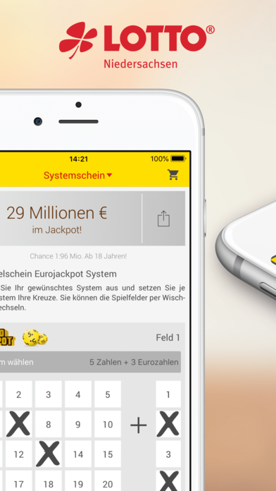 Eurojackpot und LOTTO spielen für Android: Download