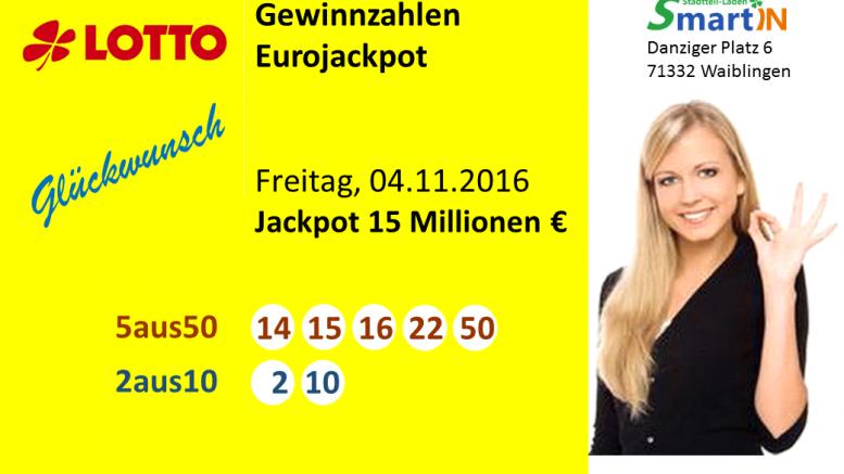 Eurojackpot Zahlen Quote