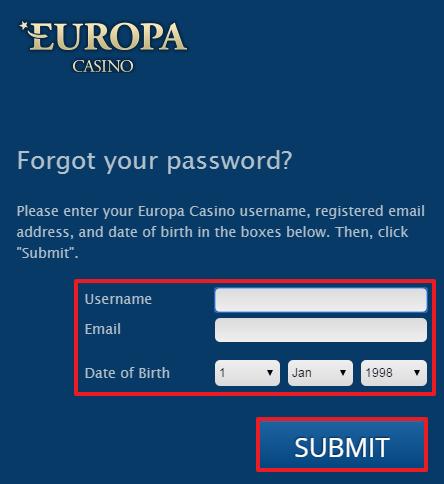 Europa Casino Erfahrungen & Testbericht - Login