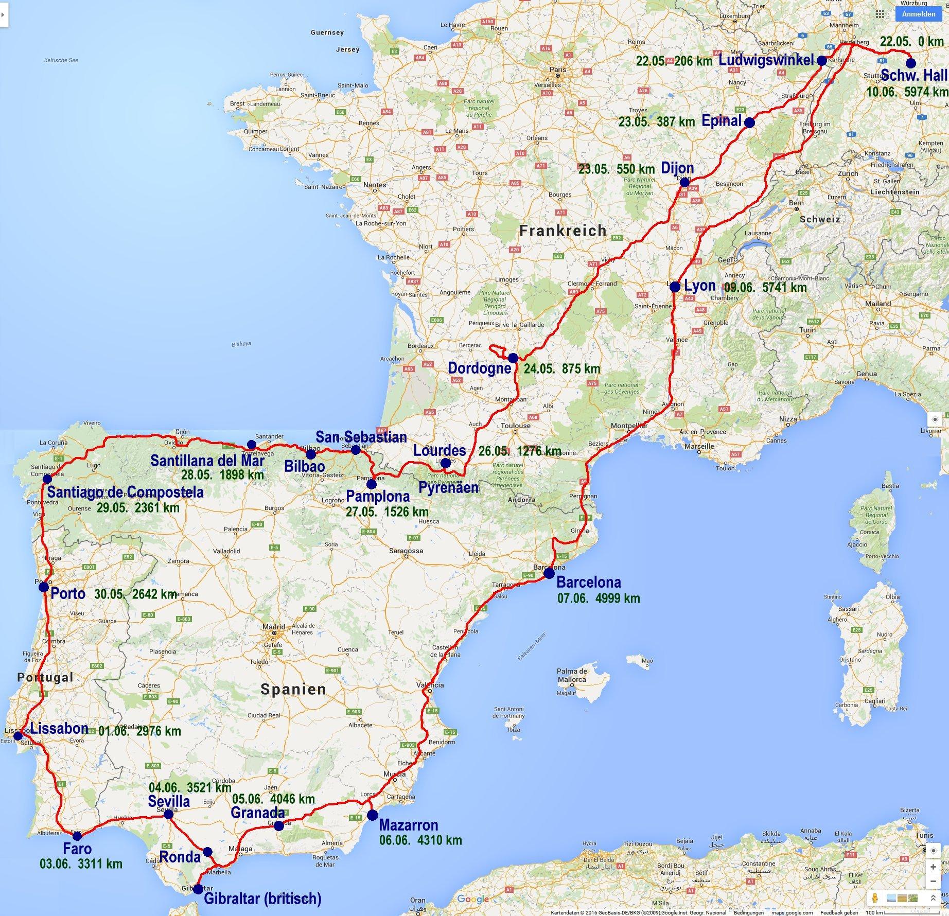 Fluss: Frankreich & Portugal | Thurgau Travel
