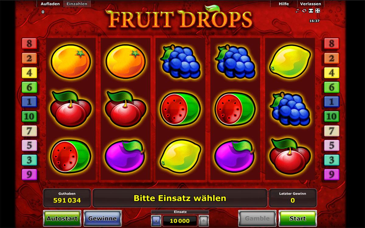 fruit-drops-novoline-spielautomat - Novoline