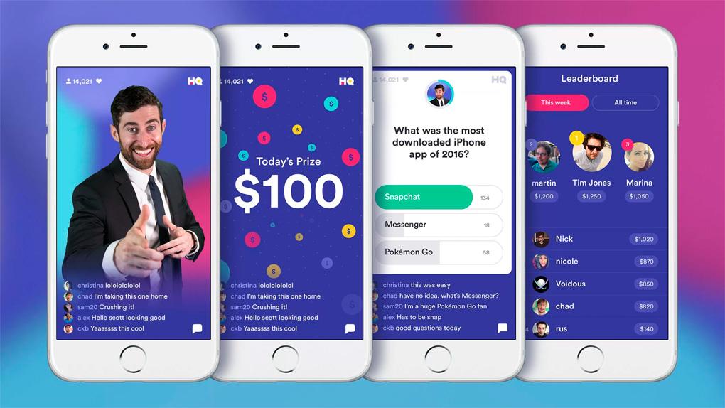 Geld verdienen met HQ Trivia-game nu ook beschikbaar voor