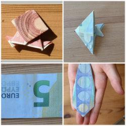 Geldgeschenke falten