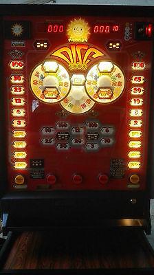 Klassischer Merkur Disc 3000 Geldspielautomat Spielautomat