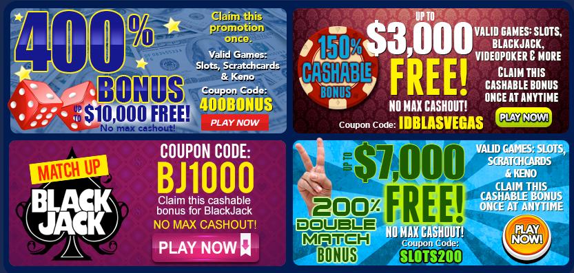 Las Vegas USA Casino Review & No Deposit Bonus Codes 2018