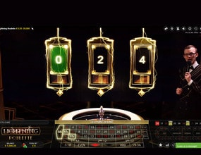 Lighting Roulette : win up to 500 times your bet!   Live Casino 2019