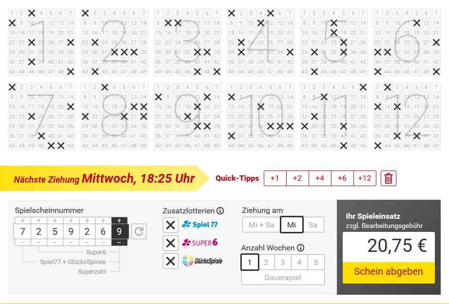 Faber Lotto Testbericht