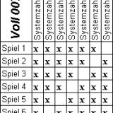 🥇🥈🥉 Lotto Vollsystem 012 [2019] 🤑