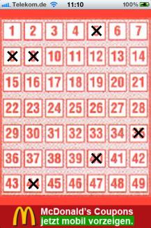 Lottozahlen-Generator - Benjamin Lochmann Apps