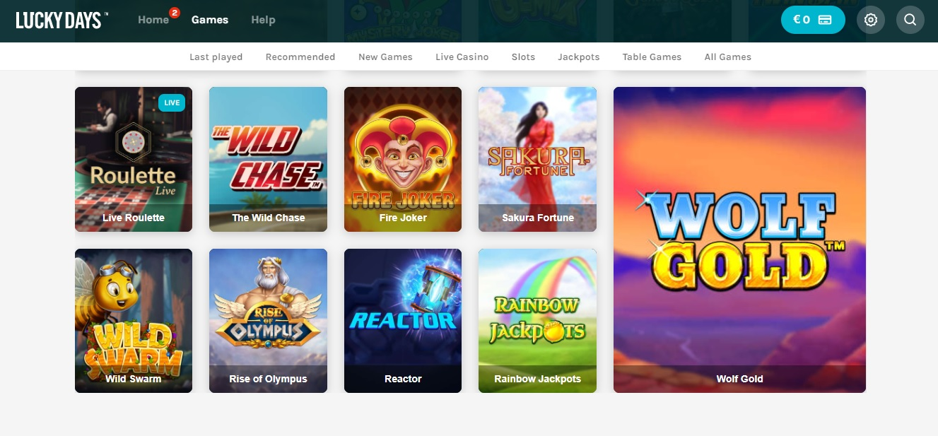 Lucky Days Casino Review -> Lees De Review Voor Je Speelt!