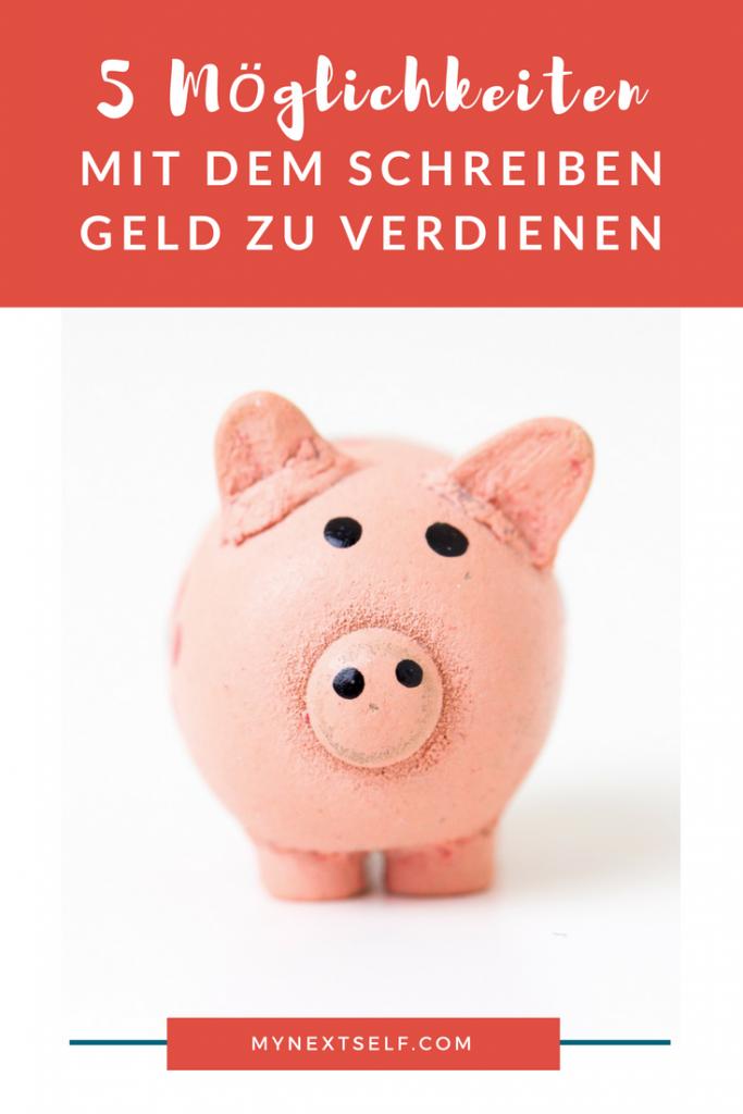 Mit dem Schreiben Geld verdienen: 4 Möglichkeiten, dein