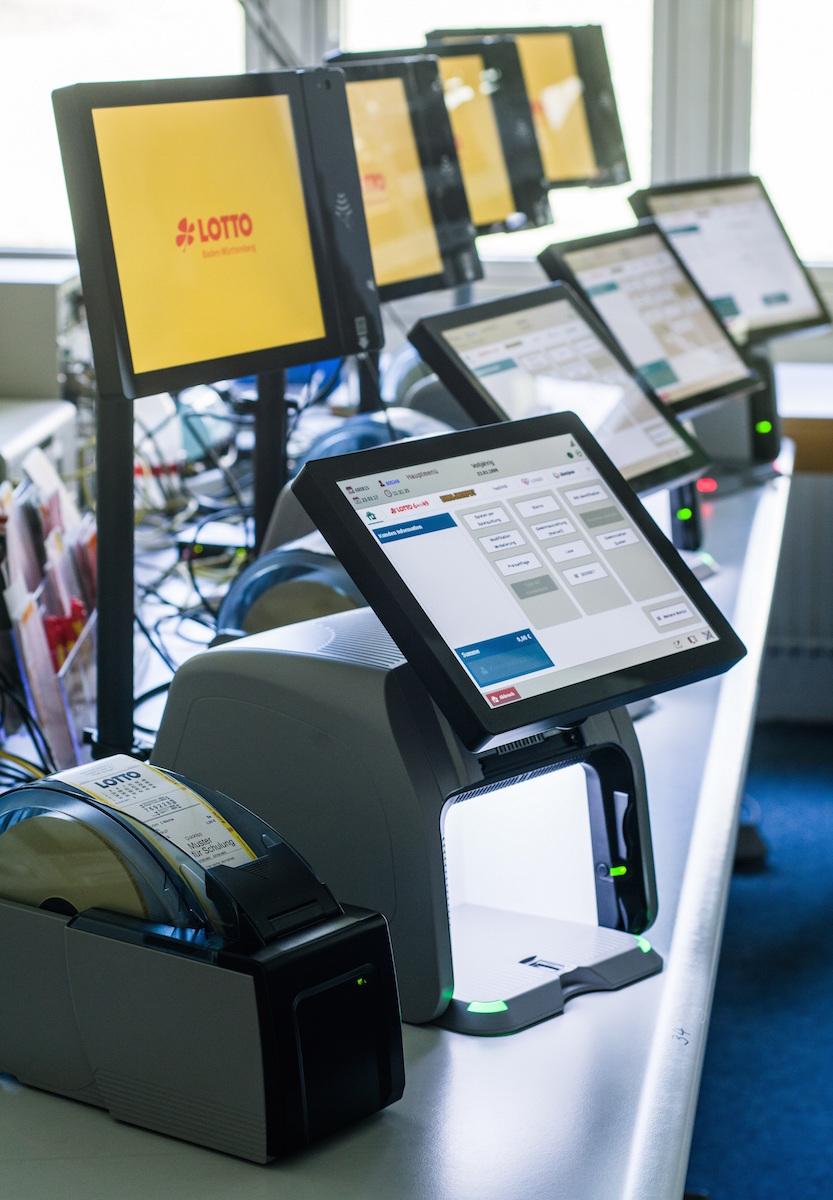Neue Lotto-Terminals für Annahmestellen in Baden