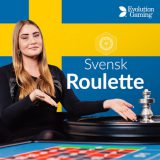 🥇🥈🥉 Svensk Roulette By Evolution Roulette [2019] 🤑