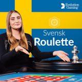 🥇🥈🥉 Svensk Roulette By Evolution Roulette [2019] 🤑