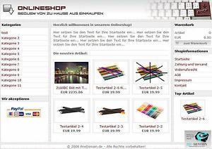 PHP Pro. Shopsystem Script | Onlineshop | PayPal Anbindung | Geld