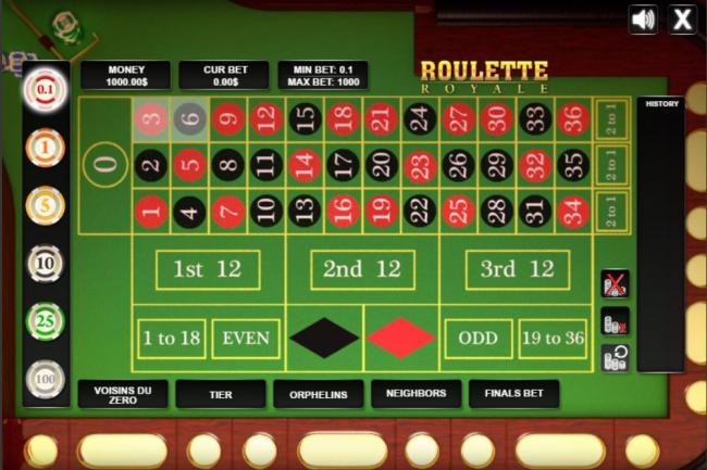 Play at the No1 Roulette Online Casino 2017 today