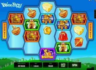 Pollen Party Slot - Microgaming Spielautomat hier
