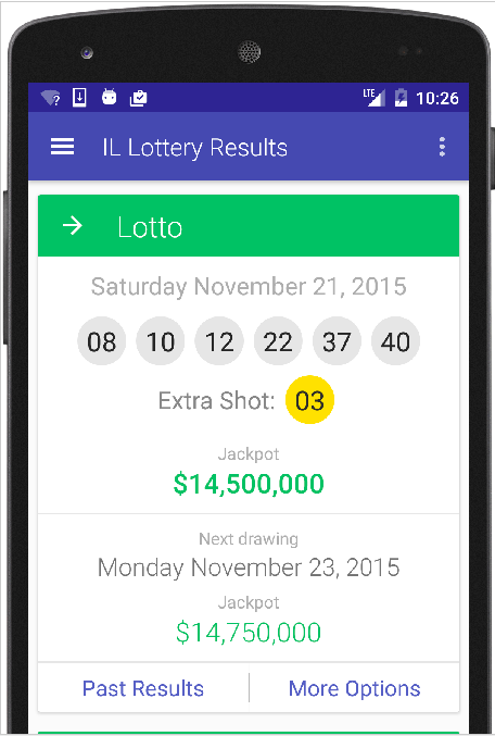 Results for Illinois Lottery - Android Apps on Google Play