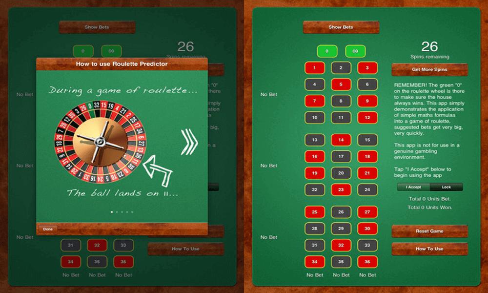 Roulette Predictor App