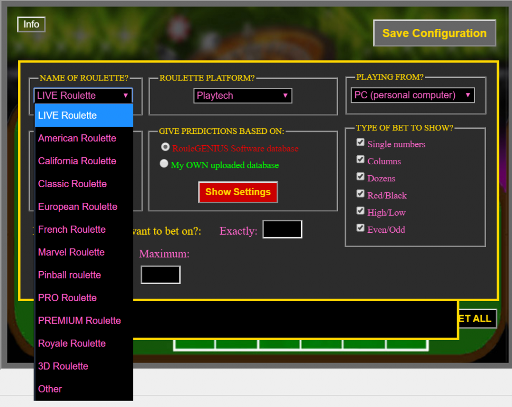 Roulette Software 2018 : Download Free Software To Win