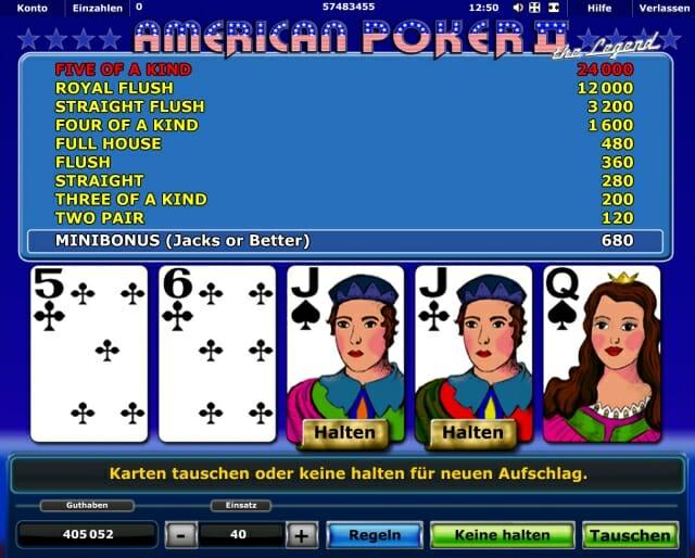 Secrets of Win: Novoline American Poker