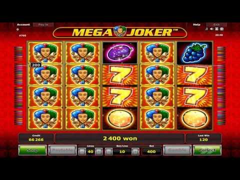 Slot Machine Mega Joker di Novomatic Novoline - Bookofra2
