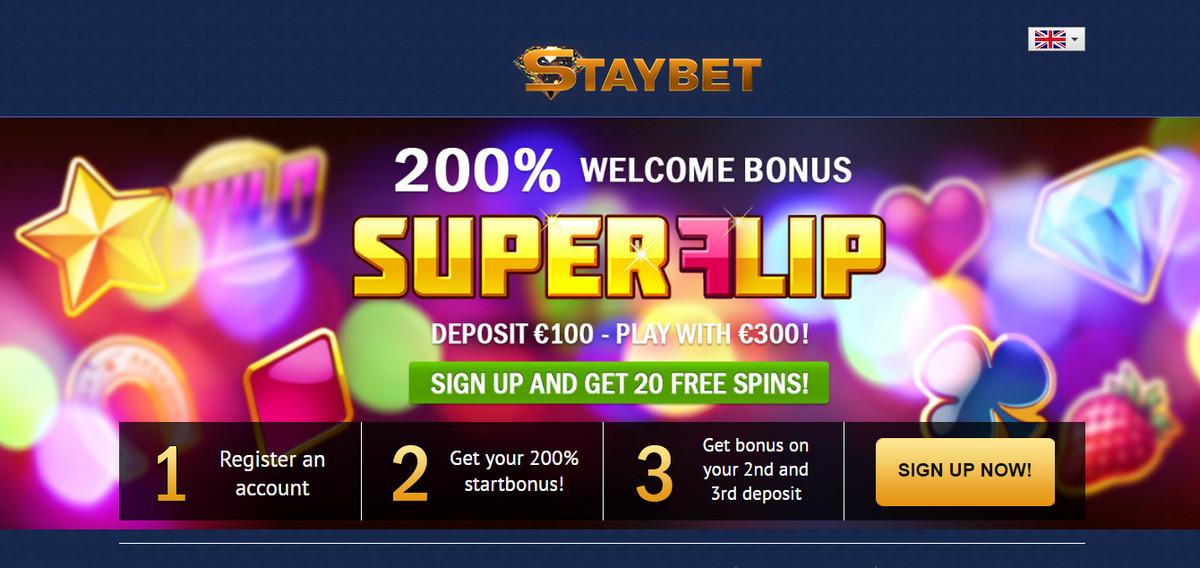 StayBet Exclusive 20 no deposit free spins | WFCasino