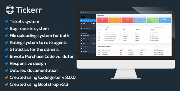 Tickerr - Ticket System nulled download