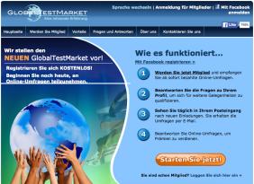 Umfragen Geld verdienen – GlobalTestMarket – Bezahlte Umfragen Portal