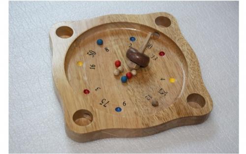 Tiroler Roulette Bauernroulette Holz Brett Spiel Nr. 868