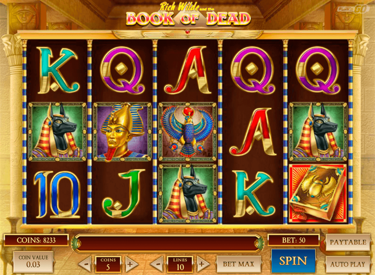 Book of Dead Slot Machine Online ᐈ Play'n Go Casino Slots