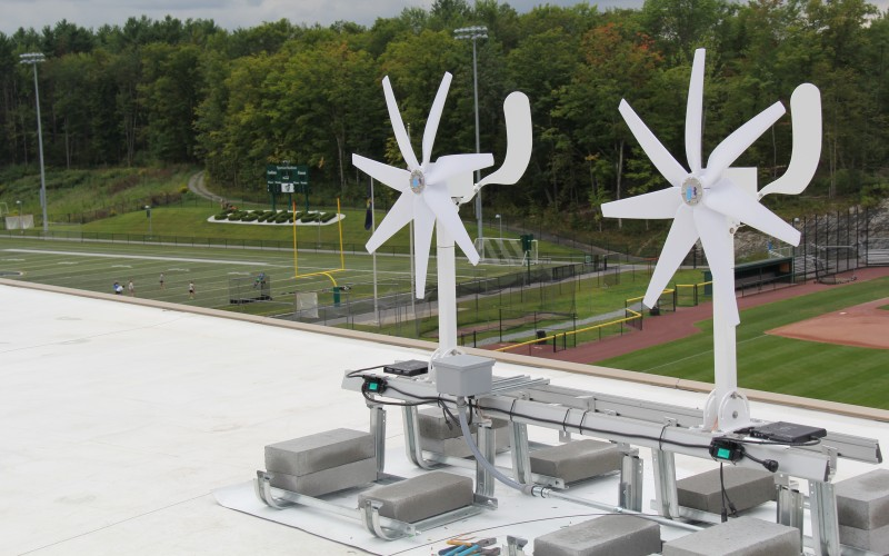 Castleton Is First To Add Micro Wind Turbine Technology