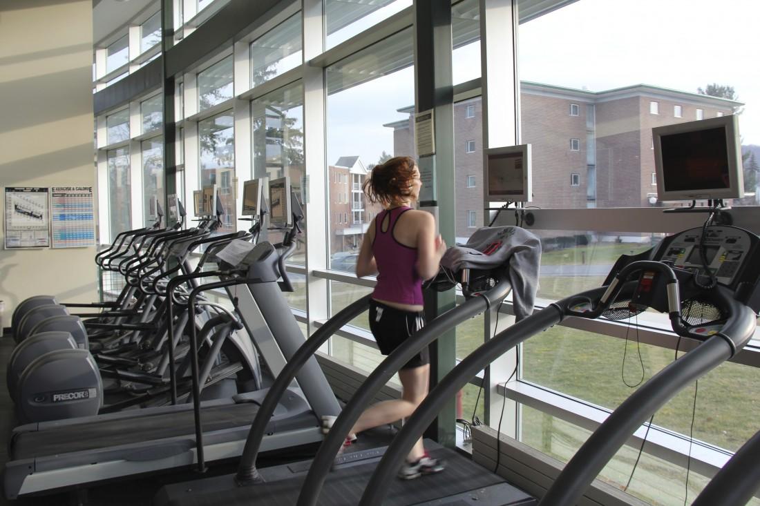 Inside of the Fitness Center