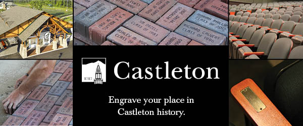 Engrave your place in Castleton history.